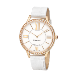 FLIRT 39MM 18K OR ROSE - BLANC