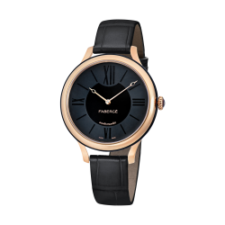 FLIRT 36MM 18K OR ROSE - NOIR