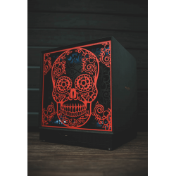 LITTLE SKULL mechanical music box